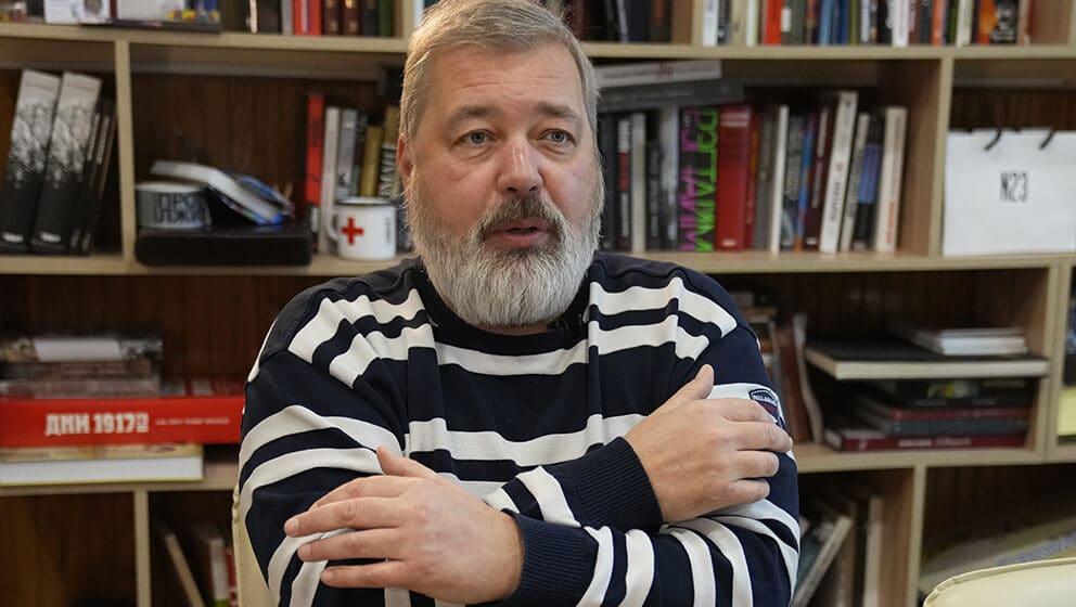 Putin: Nobelova nagrada neće zaštititi Dmitrija Muratova 1