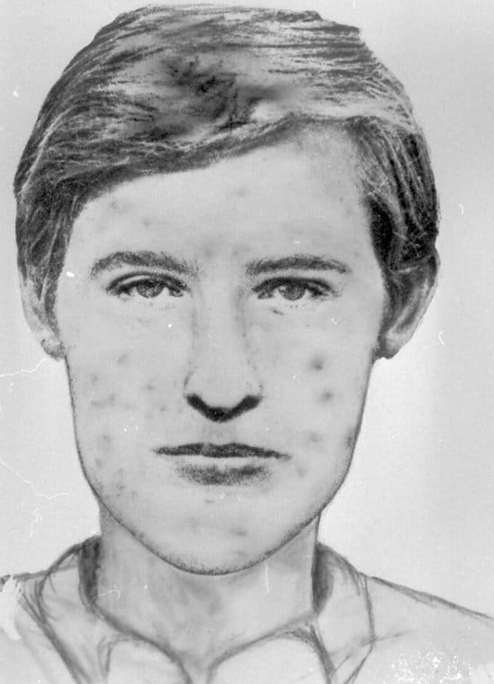 Image of pockmarked man Le Grêlé that has haunted police for decades