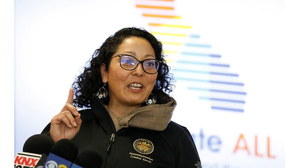 California assembleywoman Cristina Garcia