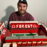 Fudbal i navijači: Napravio stadion Notingema od Lego kockica tokom karantina usled kovida 10