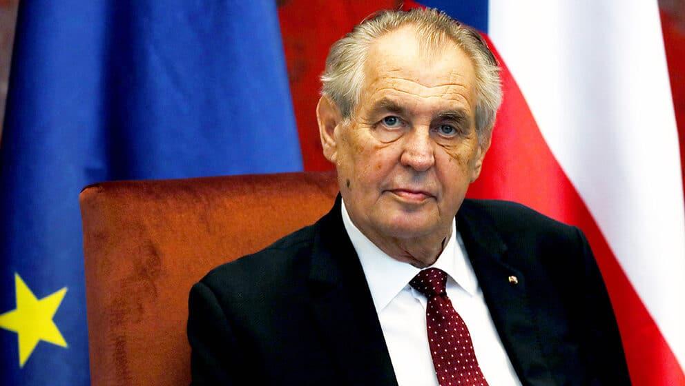 Prva dama Češke zamolila javnost da čeka strpljivo da predsednik Zeman ozdravi 1
