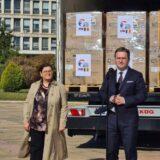 Selaković ispratio donaciju Rumuniji za lečenje obolelih od kovida 11
