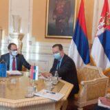 Dačić sa šefom Delegacije EU u Srbiji razgovarao o međustranačkom dijalogu 2