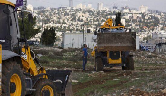 Izrael najavio izgradnju oko 1.300 kuća za jevrejske naseljenike na okupiranoj Zapadnoj obali 11