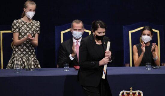 Marini Abramović uručena nagrada Princeze od Asturije 13