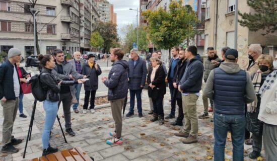 Održan protest protiv rušenja objekata na Skveru Milene i Gage 17