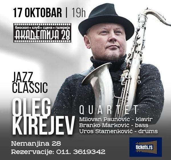 """Gala koncert """"Jazz Clasicc"""" 17. oktobra u Velikoj Sali Akademije 28 1"""