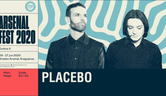 "Bend ""Placebo"" prvi hedlajner kragujevačkog Arsenal festa 22"