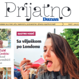 """Novi dodatak lista Danas - """"Prijatno"""" od sutra svakog petka uz novine 17"""