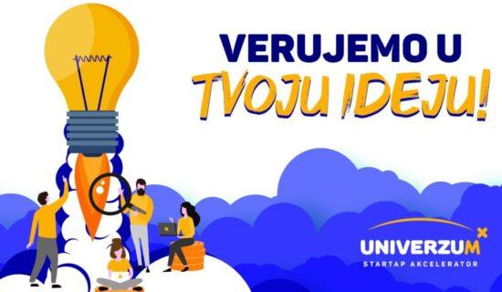 Šansa za dobre biznis ideje - Krenule prijave za startap akcelerator Univerzum 13
