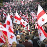 U Gruziji desetine hijada ljudi demonstriralo tražeći oslobađanje bivšeg predsednika 2