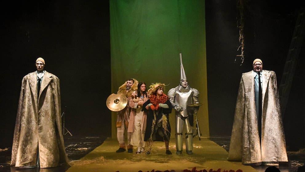 scena iz Čarobnjaka iz Oza