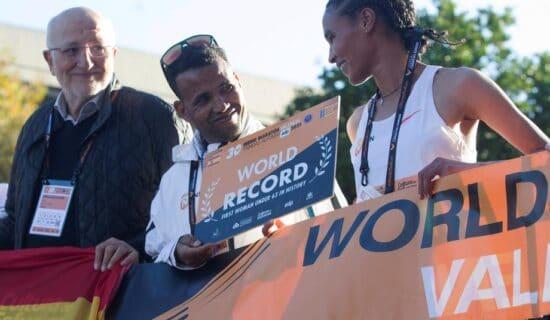 Gidej oborila svetski rekord 13