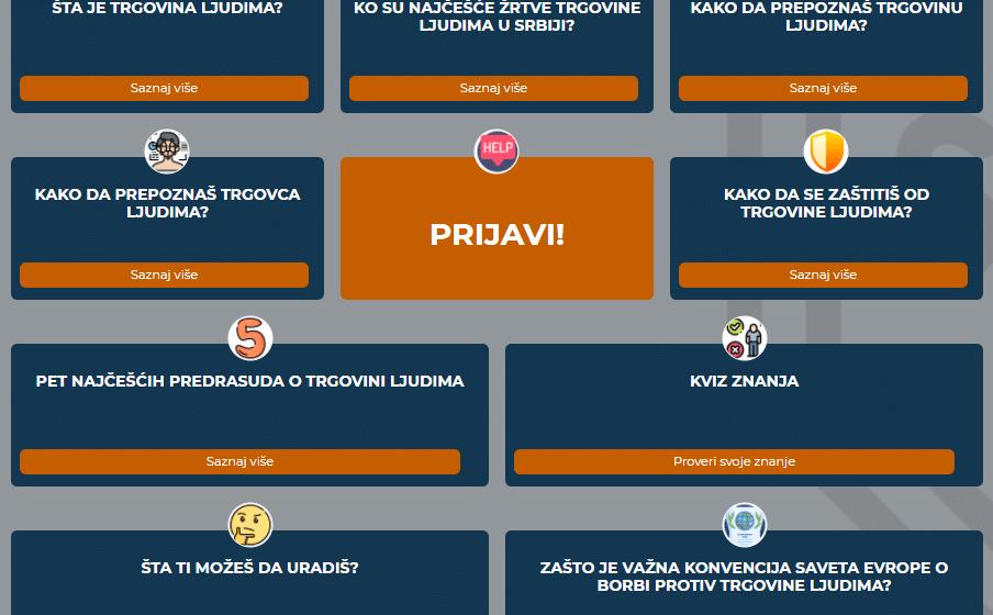 """Organizacije Atina i Centar za prava deteta pokrenuli digitalnu platformu za mlade """"Kako da se zaštitiš od trgovine ljudima"""" 1"""