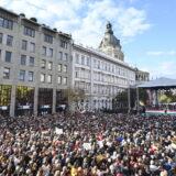 Nekoliko desetina hiljada ljudi na skupu podrške mađarskom premijeru 9