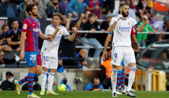 Real Madrid u gostima pobedio Barselonu 13